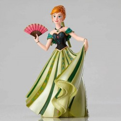 FIGURINE RESINE ANNA DE LA REINE DES NEIGES COLLECTION HAUTE COUTURE DISNEY FROZEN