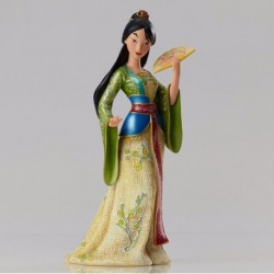 FIGURINE RESINE MULAN COLLECTION HAUTE COUTURE DISNEY