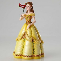 FIGURINE RESINE BELLE COLLECTION HAUTE COUTURE MASCARADE DISNEY
