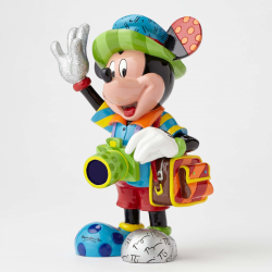 FIGURINE RESINE MICKEY MOUSE TOURISTE COLLECTION BRITTO DISNEY