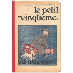 CARNET DE NOTES TINTIN LE PETIT VINGTIEME 85X125 MM VISUEL VALISE
