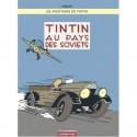 LAMINE TINTIN COUVERTURE TOME 1 LES SOVIETS EN COULEURS 50 X 70 CM