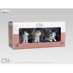 BOX CHI LE CHAT MODELE 1 CONTENANT CHI LE CHAT ASSIS MIIA ET GRATOUILLE