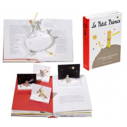 LE PETIT PRINCE LE GRAND LIVRE POP-UP TEXTE INTEGRAL ET PAGES ANIMEES