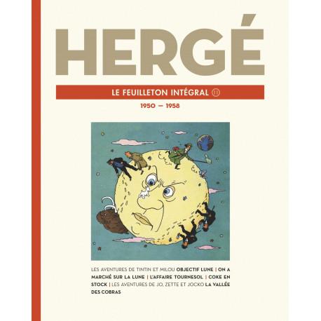 HERGE LE FEUILLETON INTEGRAL VOLUME 11 1950 A 1958