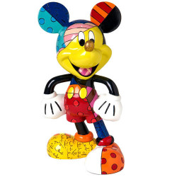 FIGURINE BRITTO MICKEY MAINS SUR LES HANCHES