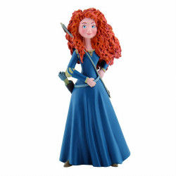 FIGURINE PLASTIQUE PRINCESSE MERIDA DE REBELLE DISNEY