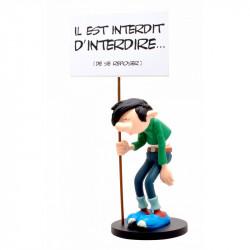 GASTON PANCARTE IL EST INTERDIT D'INTERDIRE