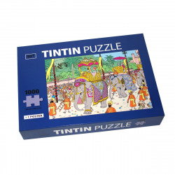 PUZZLE TINTIN ELEPHANT ALTESSE