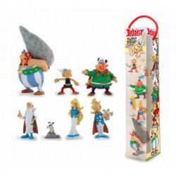 ASTERIX PACK 7 FIGURINES TUBO VILLAGE