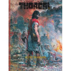 THORGAL T35 THORGAL LUXES T35-EDITION LUXE-LE FEU ECARLATE
