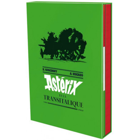 ASTERIX ET LA TRANSITALIQUE - ARTBOOK