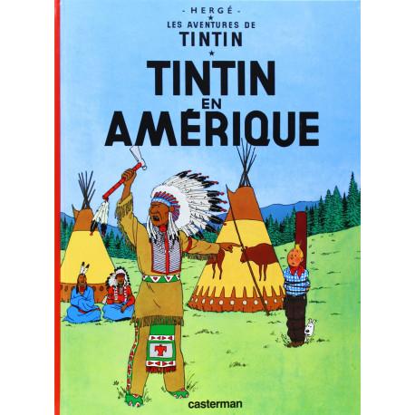 TINTIN PETIT FORMAT COULEURS T3 EN AMERIQUE