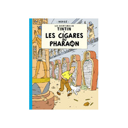 TINTIN PETIT FORMAT COULEURS T4 LES CIGARES DU PHARAON