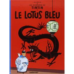 TINTIN PETIT FORMAT COULEURS T5 LE LOTUS BLEU