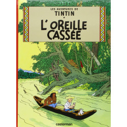 TINTIN PETIT FORMAT COULEURS T6 LOREILLE CASSEE