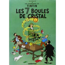 TINTIN PETIT FORMAT COULEURS T13 LES SEPT BOULES DE CRISTAL