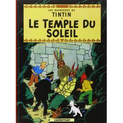 TINTIN PETIT FORMAT COULEURS T14 LE TEMPLE DU SOLEIL