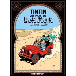 TINTIN PETIT FORMAT COULEURS T15 AU PAYS DE LOR NOIR