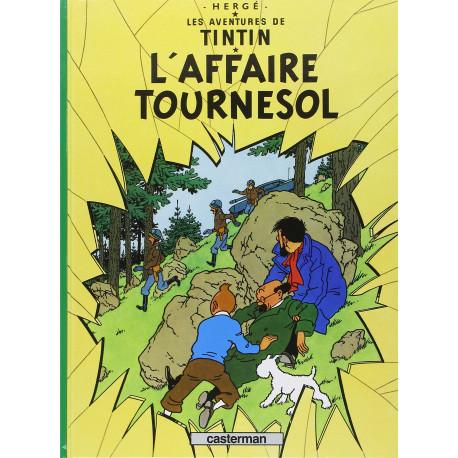 TINTIN PETIT FORMAT COULEURS T18 LAFFAIRE TOURNESOL