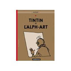 TINTIN PETIT FORMAT COULEURS T24 TINTIN ET LALPH-ART