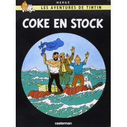 TINTIN PETIT FORMAT COULEURS T19 COKE EN STOCK