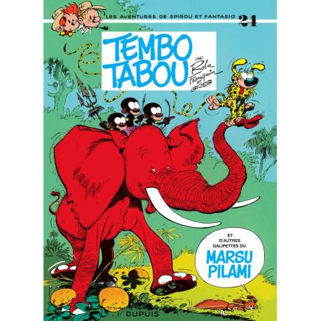 SPIROU ET FANTASIO T24 TEMBO TABOU