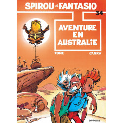 SPIROU ET FANTASIO T34 AVENTURE EN AUSTRALIE