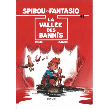 SPIROU ET FANTASIO T41 LA VALLEE DES BANIS