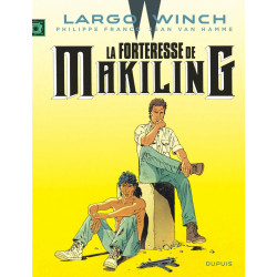 LARGO WINCH T7 LA FORTERESSE DE MAKILING GRAND FORMAT