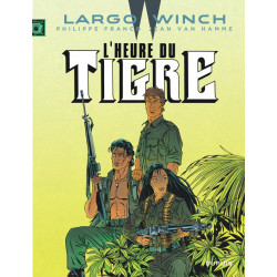 LARGO WINCH T8 LHEURE DU TIGRE GRAND FORMAT
