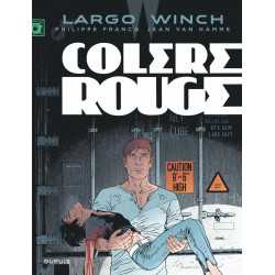 LARGO WINCH T18 COLERE ROUGE GRAND FORMAT