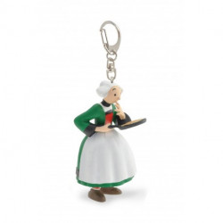 PORTE CLEF BECASSINE CREPE
