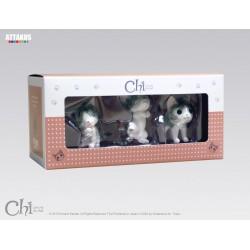 BOX CHI 2 CONTENANT CHI RONRON PAPATTE ET DEBOUT