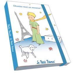 CARNET DE NOTES LE PETIT PRINCE A PARIS DESSINE MOI UN MOUTON
