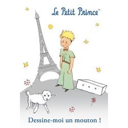 MAGNET LE PETIT PRINCE A PARIS DESSINE MOI UN MOUTON