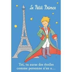 MAGNET LE PETIT PRINCE A PARIS TOI TU AURAS DES ETOILES
