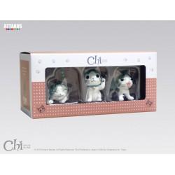 BOX CHI LE CHAT MODELE 3 CONTENANT CHI PORTE BONHEUR CALIN ET COLERE