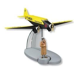 AVION TINTIN N20 VOL AIR FRANCE OREILLE CASSEE 29540